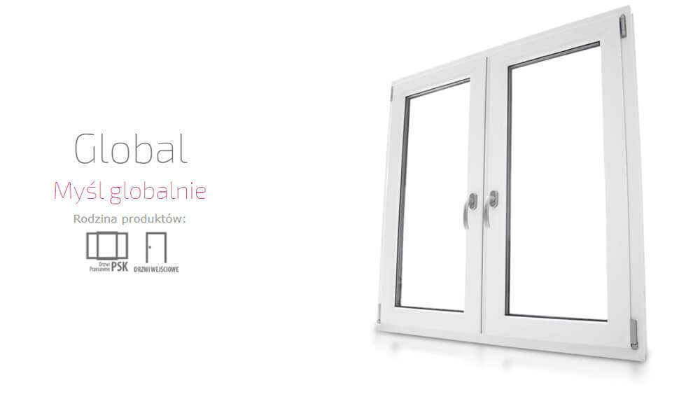 Okna plastikowe PCV Eurocolor Global