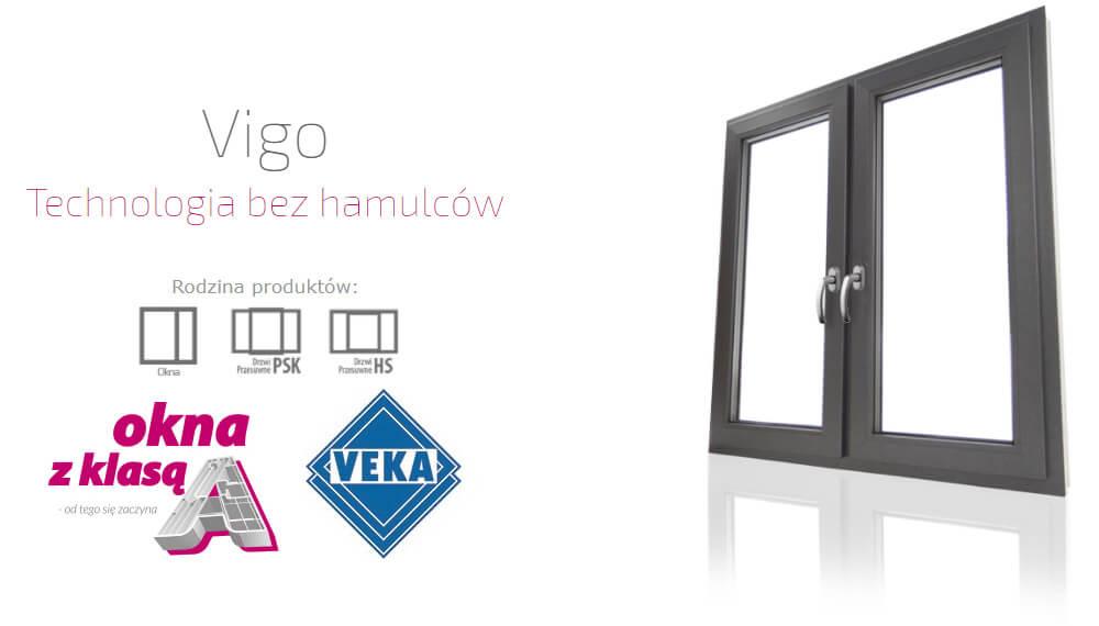 Okna plastikowe PCV Eurocolor Vigo