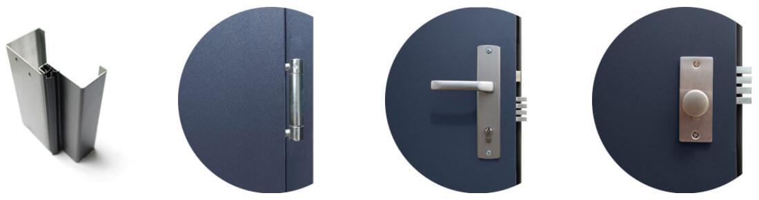 Drzwi stalowe Wikęd Normal